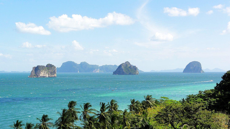Näkymä Koh Ngailta