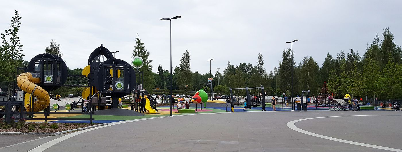 Leppävaaran Angry Birds puisto
