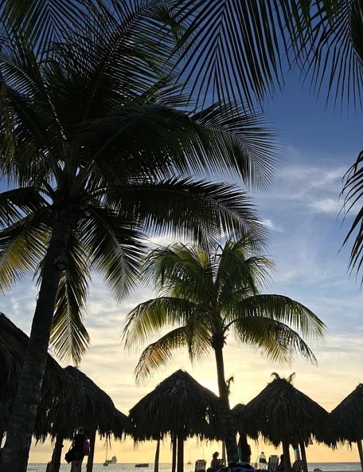 Auringonlasku Barbadoksella