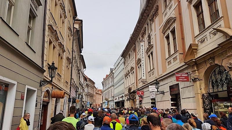 Praha maratonin lähtösuoralla