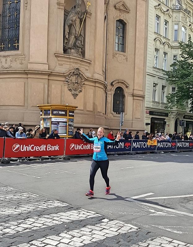 Maaliin Prahan maratonilla