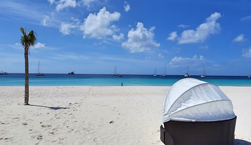 Bridgetownin ranta Barbadoksella