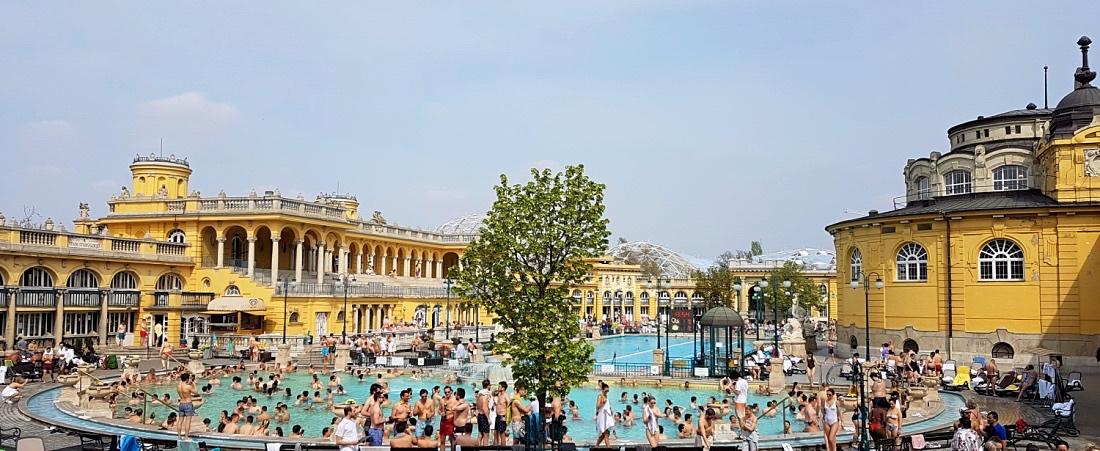 Széchenyi kylpylä Budapest