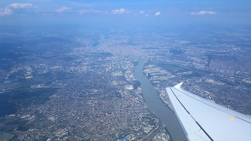 Budapest lentokoneesta