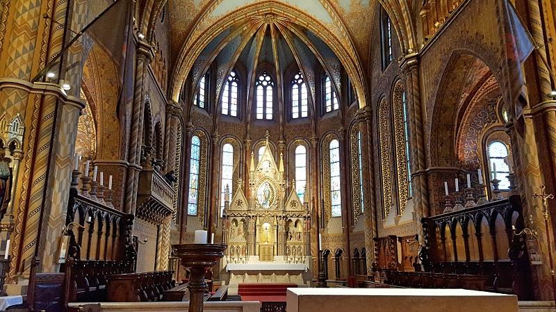 Matiaksen kirkko Budapestissä