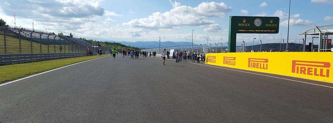 Hungaroring Formulat Budapestissä