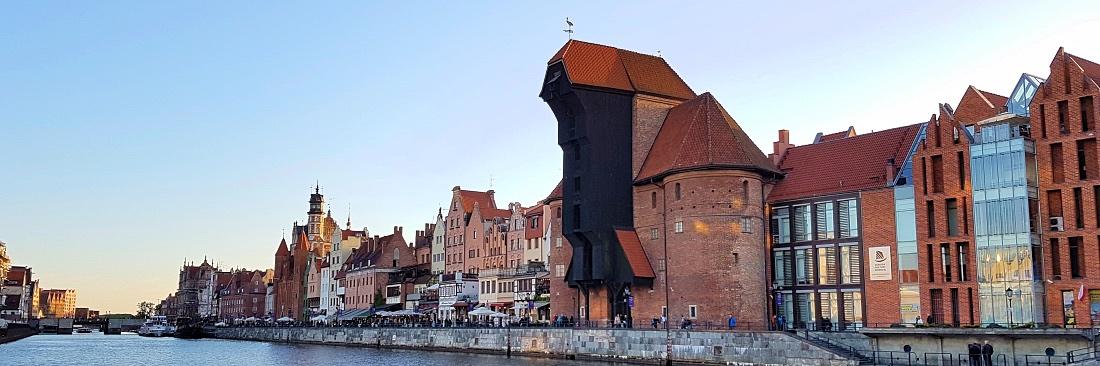 Gdansk vanha nosturi