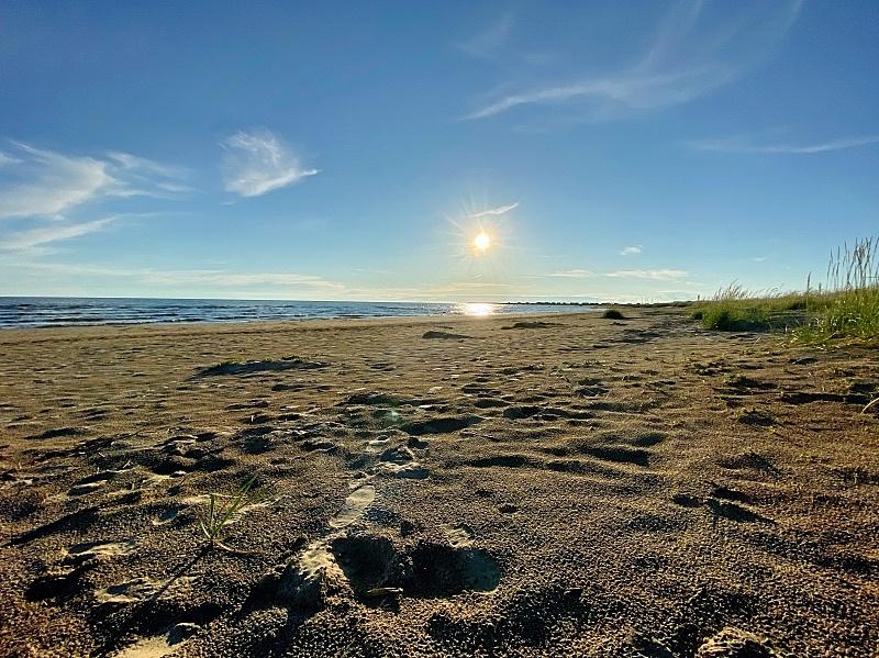 Hailuodon pitkät hiekkarannat