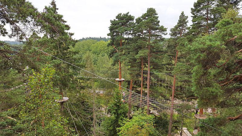 Seikkailupuisto Huippu Espoossa