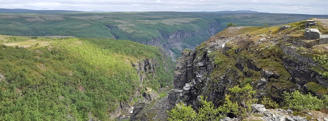 Alta-kanjonin sivuhaara