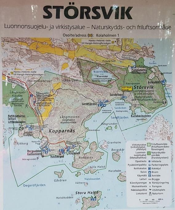 Störsvikin kartta