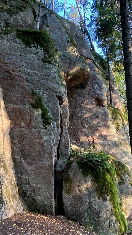 Kiipeilykalliot Kauhalan ulkoilualueella