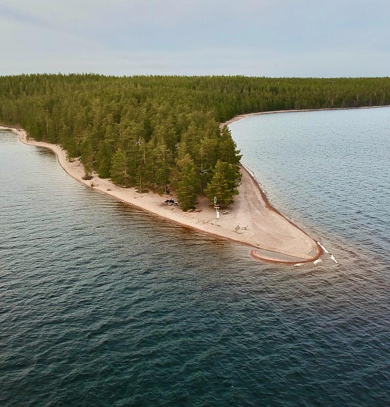 Rastinimen ranta Kyläniemessä