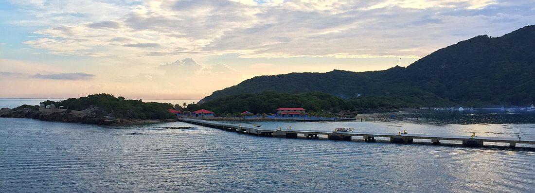 Labadee, Haiti aamulla