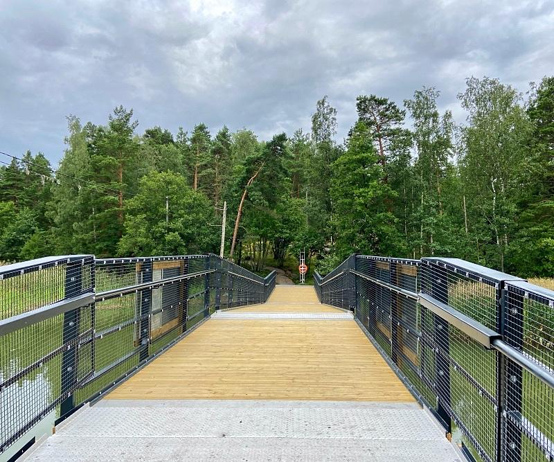 Uusi Linlon silta Kirkkonummella
