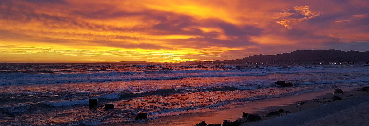 Auringonlasku Mallorcalla
