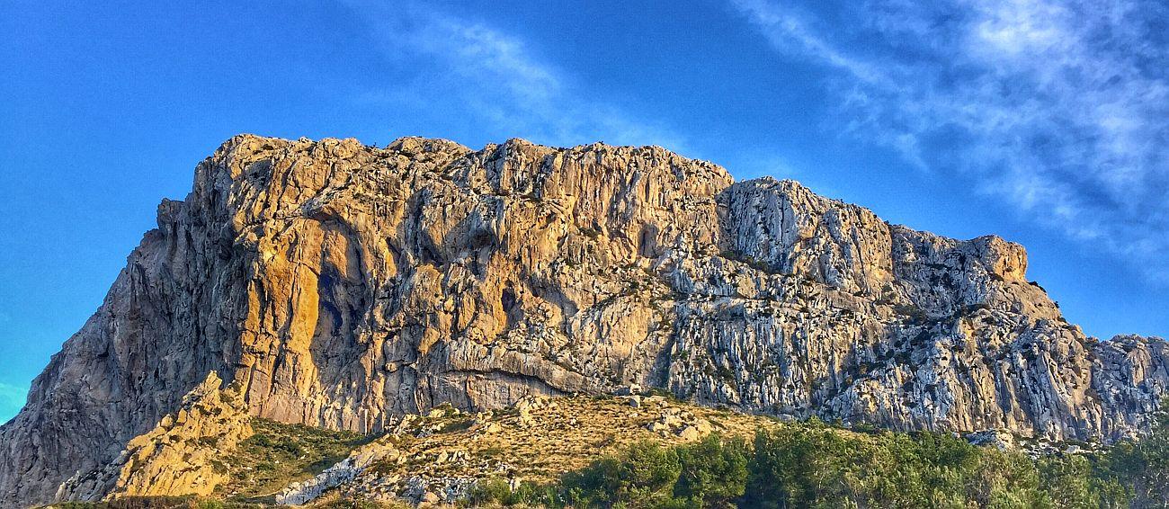Mallorcan jylhää maisemaa