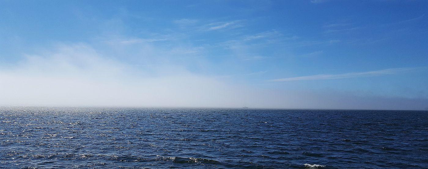 Merisumua matkalla Kaunissaareen