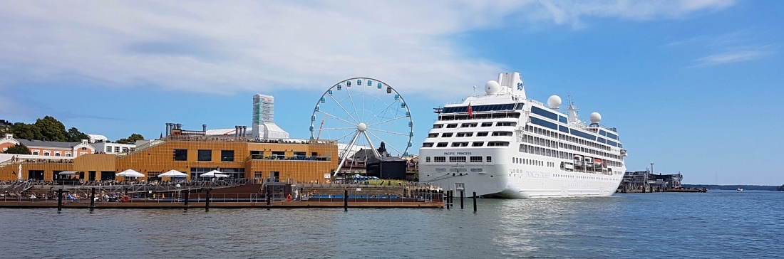 Princess Cruises Pacific Princess Helsingissä