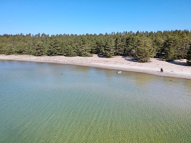 Padvan uimaranta Raaseporissa