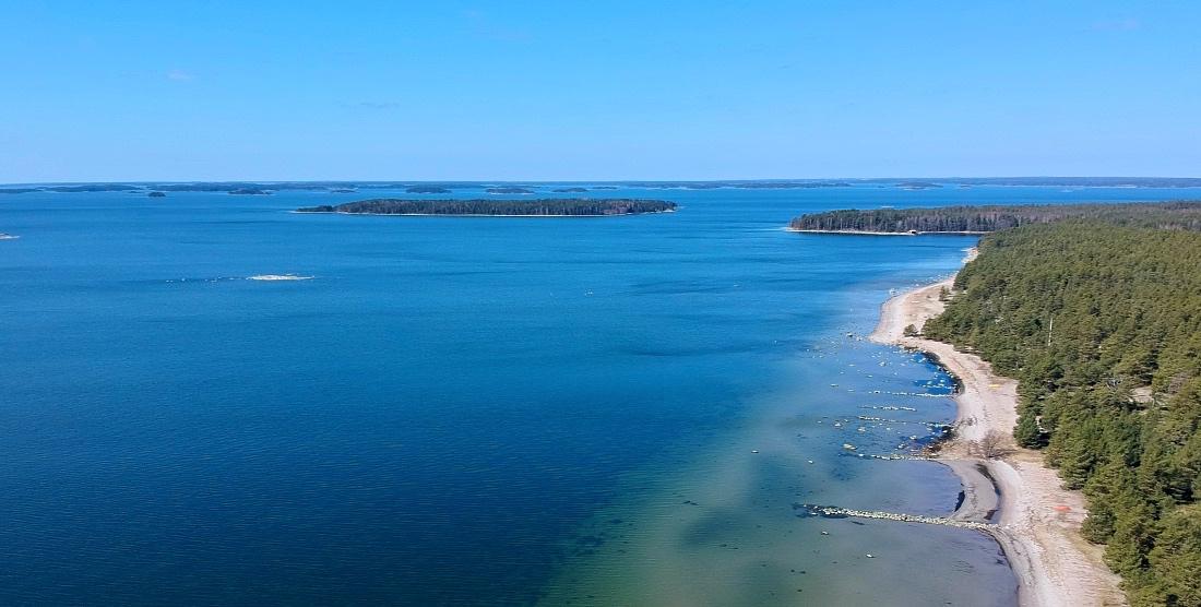 Padvan uima-ranta Raaseporissa