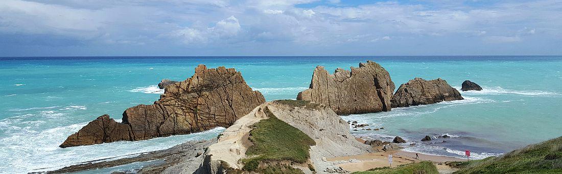 Playa de La Arnia Pohjois-Espanjassa
