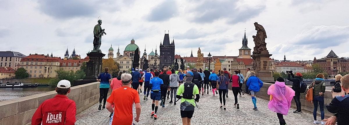 Praha maraton Kaarlensilta