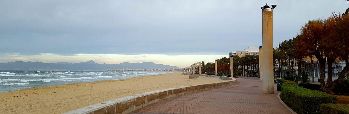 Mallorcan rannoilla on tilaa talvella