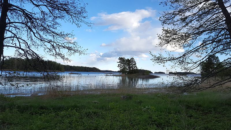 Reitin varrelta Störsvikissä