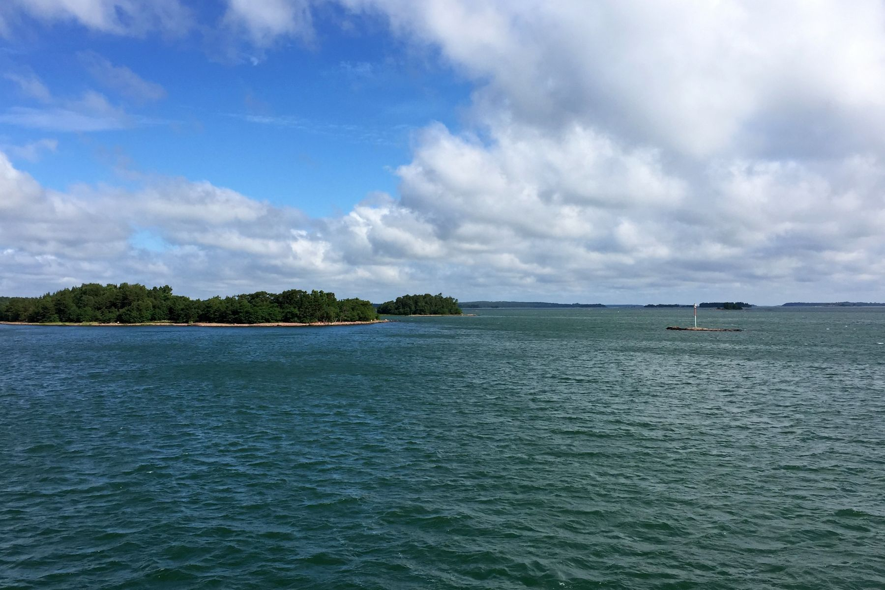 Ahvenanmaan saaristoa