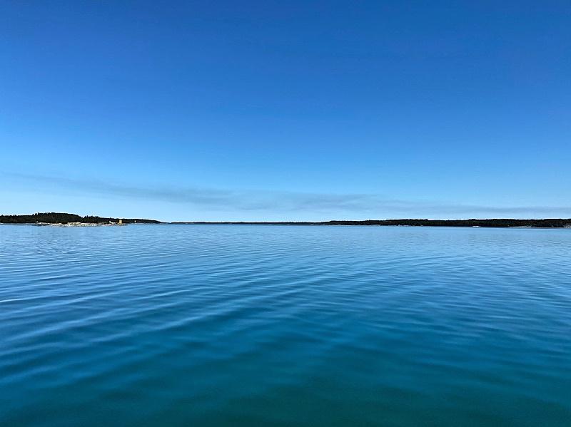 Merimaisemaa välillä Mossala - Iniö