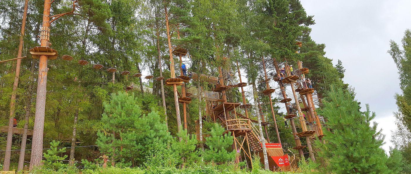Seikkailupuisto Huippu Espoon Leppävaarassa