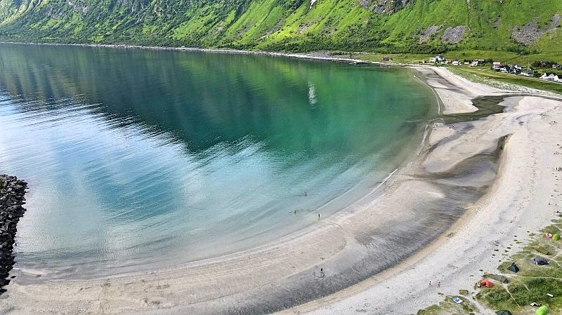 Senja Ersfjordin ranta