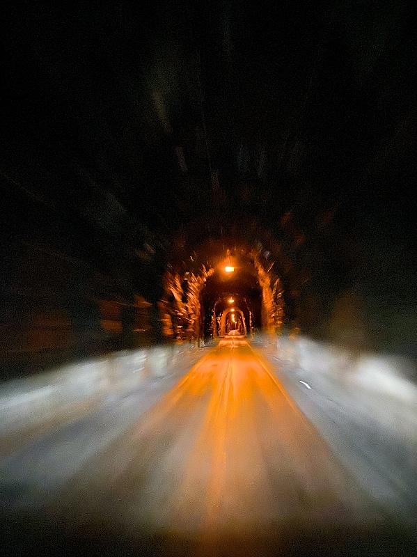 Senja tunneli