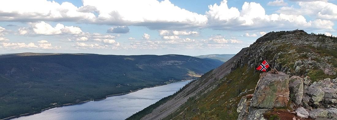 Vaellus Skagsvolalla Norjassa